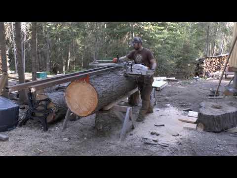 Logs to Lumber: Alaskan Chainsaw Milling