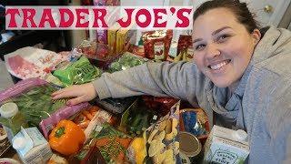 GROCERY: Trader Joe's HAUL 2019 | Sarah Rae Vlogas |