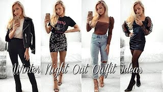 WINTER NIGHT OUT OUTFIT IDEAS 2019 / Lookbook & Outfits