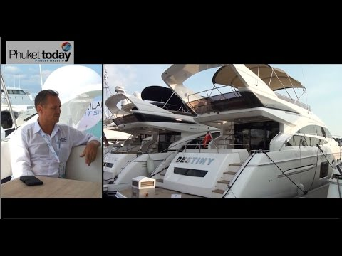 On the water at the Thailand Yacht Show