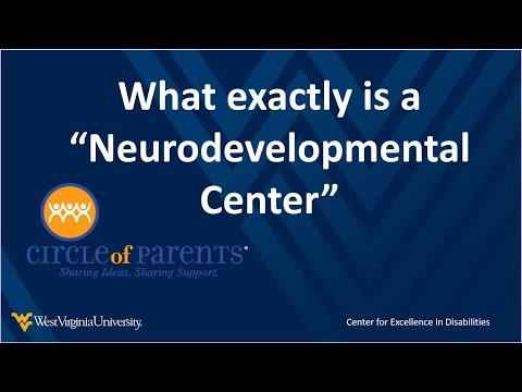 a snapshot of the What is a Neurodevelopmental Center video