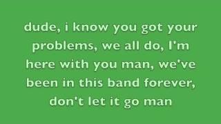 Sorry Dudes, My Bad - Say Anything Lyrics