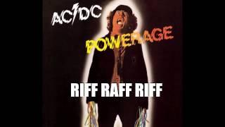 AC/DC - Riff raff - riff loop