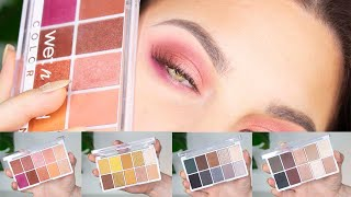 NEW Wet n' Wild Coloricon 10 Pan Eyeshadow Palettes | Swatches & Tutorial
