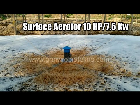 Floating Surface Aerator FAS-310 (10 HP/7.5 Kw)