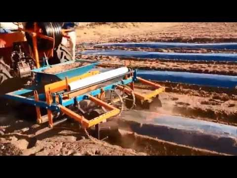 Plastic Mulch Film Laying Mulching Machine
