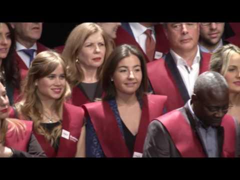 Resumen acto de graduación en IMF Business School