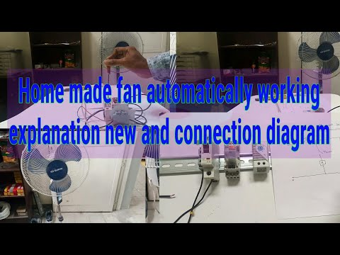 Tamil How to make fan as a automatically working simple explaining new