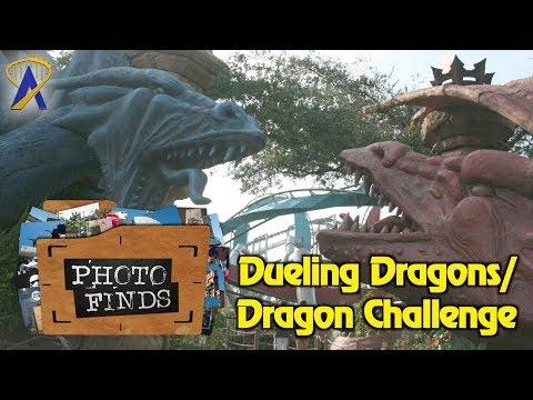 Dueling Dragons/Dragon Challenge History - Photo Finds