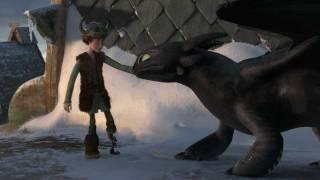 """Как приручить дракона, Gift of the Night Fury - """"Hiccup & Toothless Flight"""" Clip(ВНИМАНИЕ!СПОЙЛЕРЫ)"""