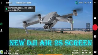 5.4k Video Camera Setting and 20MP Aerial Photography, New DJi Air 2s Best Drone, App Screen DJi Fly