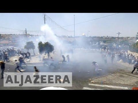 Protests rage over al-Aqsa