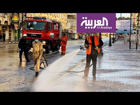 العرب اليوم - شاهد: هروب الطاقم الطبي في ليبيا فور وصول أحد المصابين بـ