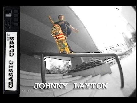 Johnny Layton Skateboarding Classic Clips #176 China