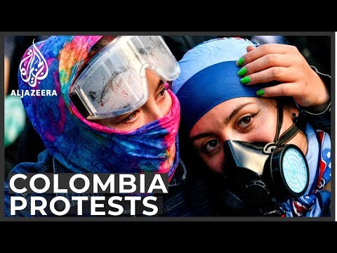 Colombia Protests: Anger over president's economic plan