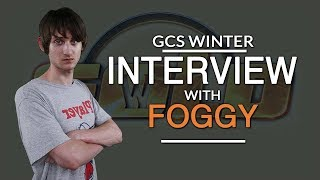 """Post Final Interview with Foggy at GCS:W 2017: """"I lost all timings. """""""