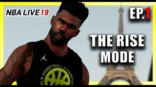 NBA LIVE 19 THE ONE Ep.1 - BEST PLAYER CREATION BUILD!! PLAYING AT THE QUAI IN FRANCE!