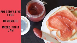 Quickest And Easiest Preservative-free Jam Recipe|Mixed Fruit Jam|Instant Pot/Pressure Cooker Recipe