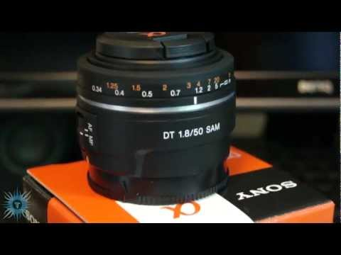 [HD] Sony 50mm f1.8 Prime Lens Unboxing