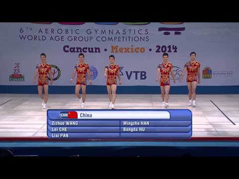 2014 world aerobic gymnastics championships groups