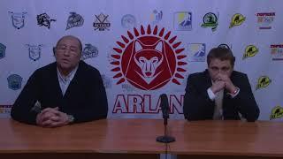 Пресс-конференция «Арлан» - «Астана»