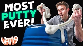 We covered an entire room in putty! - Video Youtube