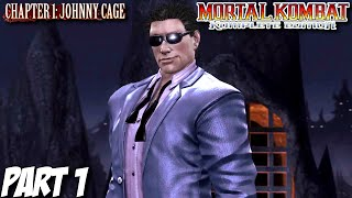 Video Mortal Kombat Komplete Edition Story Mode Part 1 - Chapter 1: Johnny Cage (PC, PS3, Xbox 360)