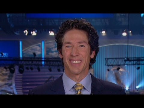 Pastor Joel Osteen on Twitter power, and same-sex marriage