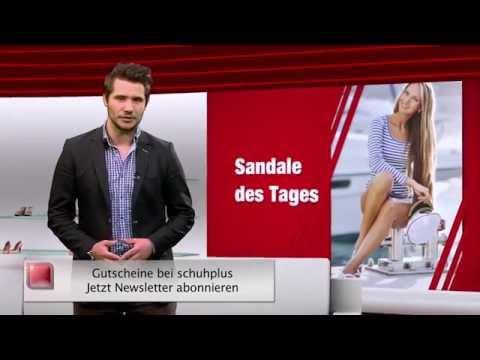 Damen Sandalen in Übergrößen. Große Damenschuhe bei schuhplus. Schuh des Tages - 26.12.2014