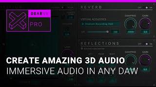 dearVR pro   VST, AAX, AU   Spatial Audio demo video   Virtual Acoustics (HEADPHONES RECOMMENDED)