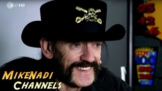 Motörhead Tour 2015 / 2016 - Interview mit Lemmy / Paris (ZDF aspekte 20.11.15)