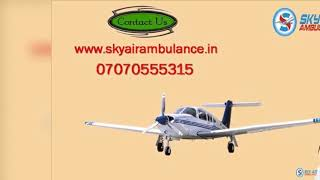 Receive nonpareil ICU Air Ambulance Service in Lucknow
