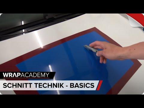 SCHNITT-TECHNIK-BASICS - CAR WRAPPING SCHULUNG