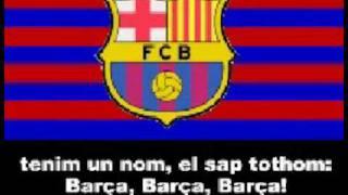 Himno Del Barcelona Con Letra