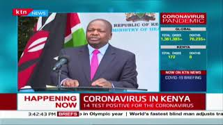 CS Kagwe: Prepare for the worst  | COVID-19 7th April 2020 Updates