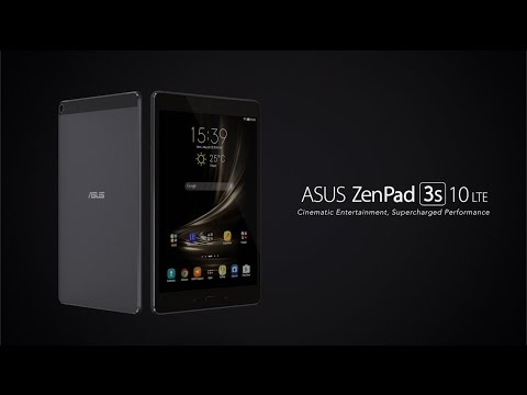 Cinematic Entertainment, Supercharged Performance - ZenPad 3S 10 LTE | ASUS