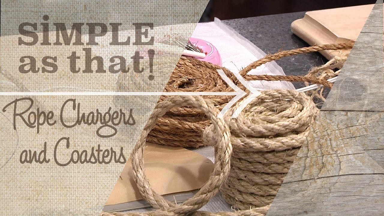 Rope Chargers and Coasters