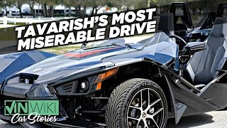 """Is there a worse road trip """"car"""" than a Polaris Slingshot?"""