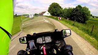 Wunderlich Vario Ergo And Climbing A Mountain On A BMW K75RT