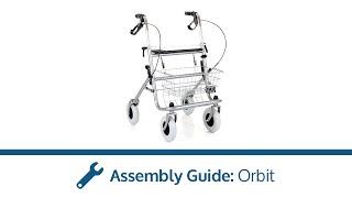 Orbit Rollator Assembly Guide