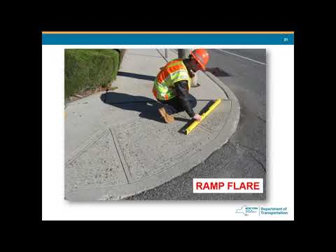 Training Video: Inspecting ADA-compliant curb ramps 2020 - YouTube