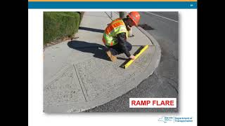 Training Video: Inspecting ADA-compliant curb ramps 2020