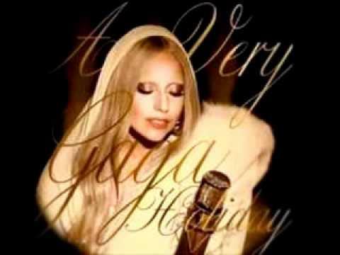 Lady Gaga White Christmas - Instrumental Karaoke with Lyrics
