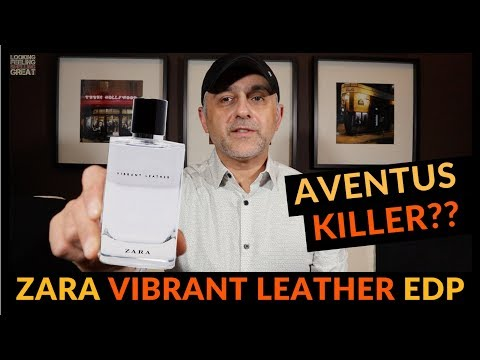 Zara Vibrant Leather Eau De Parfum Fragrance Review | AVENTUS KILLER? 🍋🍍