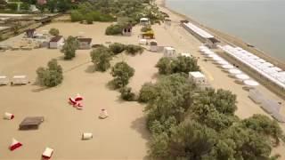 Анапа 4к полет. над Барханми от Дельфинария до Анапки май 2018