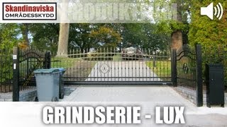 Lux AW10.57 DVG Smidesgrind dubbel AW10.57 - 1000x3000mm