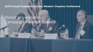 Click to play: Donor privacy and Campaign-Related Speech