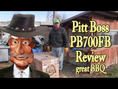Pit Boss Pallet Grill Review PB700FB