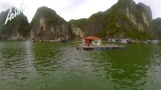 [Activer list 65b] Путешествие по Вьетнаму - залив Халонг, ужин с мафией.