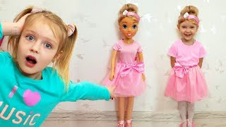 Margo Play with Toy a Doll Nastya